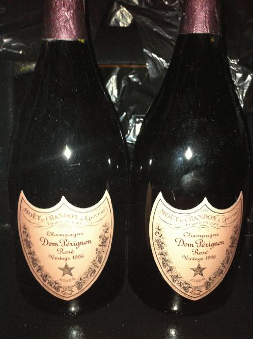1996 Moet Chandon Dom Perignon Rose