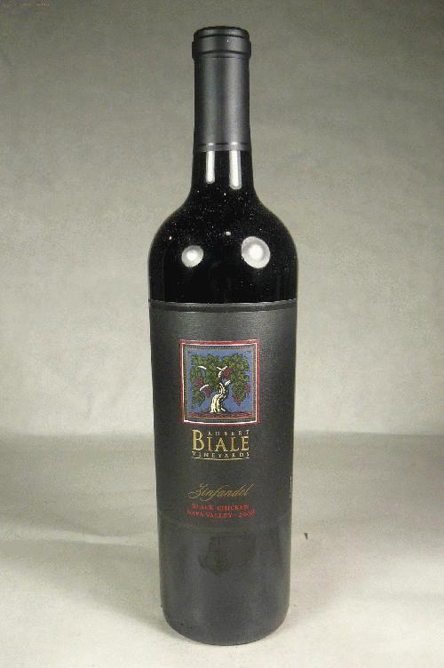 2008 Robert Biale Vineyards Zinfandel Black Chicken Vineyard Zinfandel