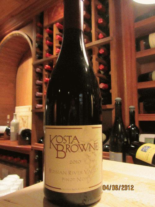 2010 Kosta Browne Pinot Noir Russian River Valley **PRISTINE**SEE MY OTHER LOTS**
