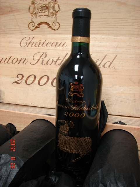2000 Mouton-Rothschild   *** Perfect  Pristine  Condition ***
